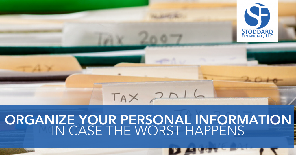 Organize your Personal Information in Case the Worst Happens