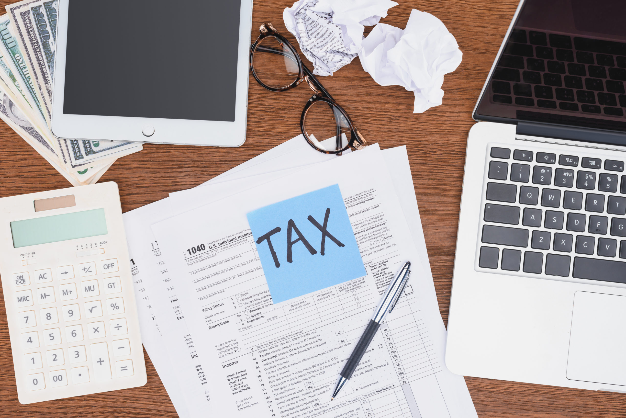 Comparing Your 2017 & 2018 Tax Worksheet