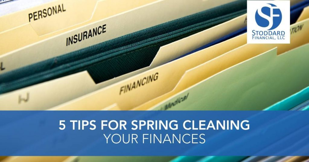 5 Tips for Spring Cleaning Your Finances